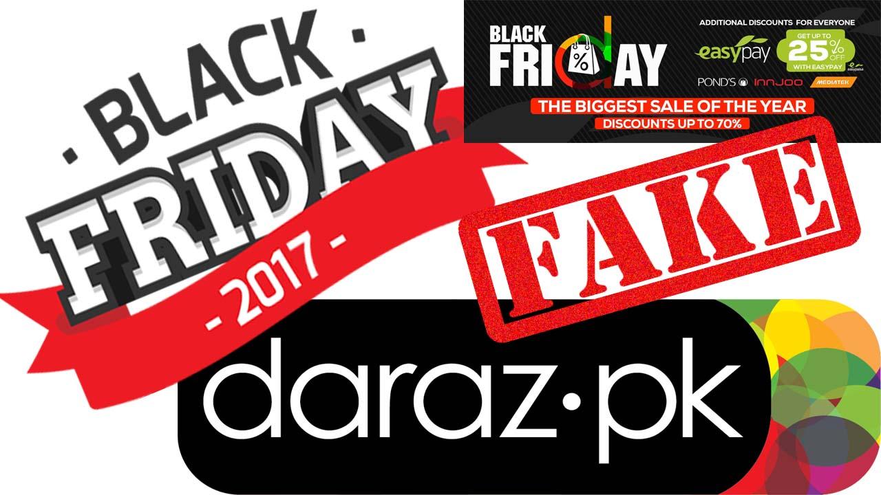 Daraz Pk Black Friday 2017 Click Now 23 November 2017 Blog Technical Tricks Official